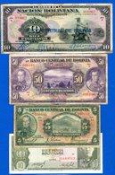 Bolivie  4  Billets - Bolivie