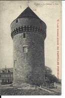 GACÉ (vers 1910) - Château - Tour - Pub Pastilles Poncelet - Gace