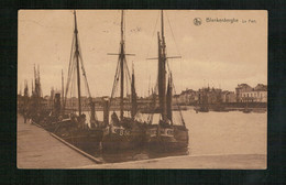 Blankenberge - 1923 - Le Port - Blankenberge