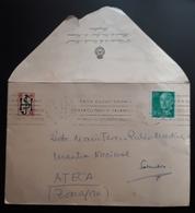 "PAMPLONA - ATECA. REMITIDA DIRECTOR DE LA ESCUELA NORMAL ""HUARTE DE SAN JUAN"" DE NAVARRA. - 1931-Today: 2nd Rep - ... Juan Carlos I"