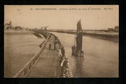 Blankenberge - 1911 - Entrée Du Port - Vue Prise De L'Estacade - Blankenberge