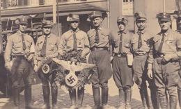 AK Propaganda / Soldaten / Reichsadler / Fest / Foto AK .. - Weltkrieg 1939-45