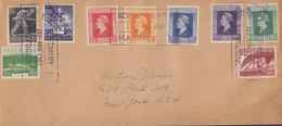 Netherlands KONINKLIJKE Marine 1944 Special Cancel Cover Londoner Exilregierung Ausgabe - Storia Postale