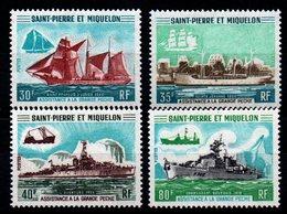 S.P.M. - YT N° 410 à 413 - Neufs ** - MNH - Cote: 235,00 € - St.Pierre Et Miquelon