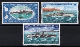 S.P.M. - YT N° 414 à 416 - Neufs ** - MNH - Cote: 133,00 € - St.Pierre & Miquelon