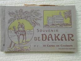 Carnet 10 Cpa Colorisées Dakar Sénégal - Sénégal