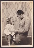 AK Propaganda / Reichsminister Dr. Goebbels Mit Seiner Tochter - Weltkrieg 1939-45