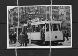 Reproduction Tram 56 Publicite Biere Wielemans Caulier - Tramways