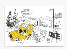 Cp, Bourses & Salons De Collections, 16 , Ruffec,5e Exposition-bourse,1986,tirage 1000 Ex.,vierge - Borse E Saloni Del Collezionismo