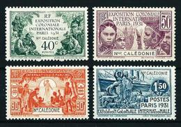 Nueva Caledonia Nº 162/5 Nuevo* Cat.35€ - New Caledonia