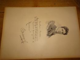 Pietro Mascagni, Compositeur Italien De Musique, Document Extrait D'un Livre Paru En 1904 - Andere