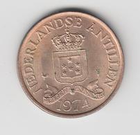@Y@    Nederlandse Antillen   2 1/2  Cent  1974 ( 4623 ) - Antilles Neérlandaises