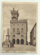 REPUBBLICA DI S.MARINO - PALAZZO GOVERNATIVO VIAGGIATA FG - San Marino