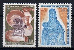 S.P.M. - YT N° 443-444  - Neufs ** - MNH - Cote: 12,00 € - St.Pierre Et Miquelon