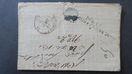 Lettre Avec Texte Déboursé DEB. 15 Cofolens Charente Sur Lettre De Chollet 1831 - 1801-1848: Precursors XIX