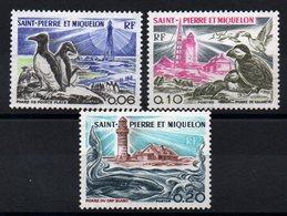 S.P.M. - YT N° 445 à 447 - Neufs ** - MNH - Cote: 14,20 € - St.Pierre Et Miquelon