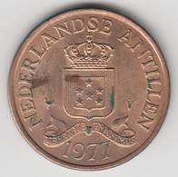@Y@    Nederlandse Antillen   2 1/2  Cent  1977 ( 4626 ) - Antilles Neérlandaises