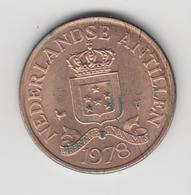 @Y@    Nederlandse Antillen   2 1/2  Cent  1978 ( 4627 ) - Antilles Neérlandaises