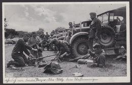 AK Propaganda / Unser Heer / Panzer Abteilung Beim Waffenreinigen ... - Weltkrieg 1939-45