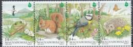 Hungary 1995 (MNH)  (AVE50) - White Stork Snd Eurasian Blue Tit - Verzamelingen, Voorwerpen & Reeksen