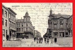 Bastogne.Ville Haute. Pharmacie-Droguerie François. Au Bon Marché A. Delhaize.J.Luc Thonus.  Feldpost Mai 1915 - Bastenaken