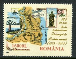 ROMANIA 2003 Return Of Dobrudja Anniversary  MNH / **.  Michel 5771 - Unused Stamps