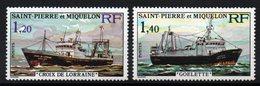 S.P.M. - YT N° 453-454 - Neufs ** - MNH - Cote: 23,50 € - St.Pierre Et Miquelon