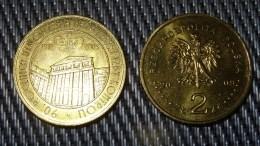 90 Anniversary Of NIK - 2009 POLAND - 2zł Collectible/Commemorative Coin POLONIA - Poland