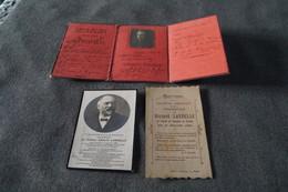 Documents Originaux,guerre 14-18,carte Du Feu,Laruelle Raymond,médecin,docteur,militaria,collection,superbe Lot - Documents Historiques