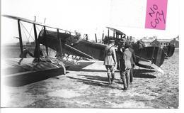 """CARTE PHOTO DE L'AVION BRISTOL """" FIGHTER"""" F2B - 1914-1918: 1ère Guerre"""