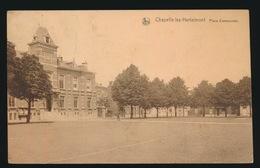 CHAPELLE LEZ HERLAIMONT  PLACE COMMUNALE - Chapelle-lez-Herlaimont