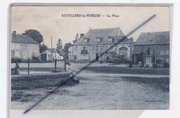 Auvillers Les Forges (08) La Place -Etablissement J.Tourolle / Monument Aux Morts - Ohne Zuordnung