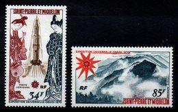 S.P.M. - YT PA N° 48-49 - Neuf ** - MNH - Cote: 81,00 € - Poste Aérienne