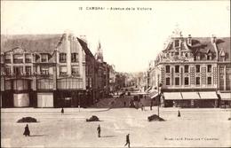 Cp Cambrai Nord, Avenue De La Victoire - France