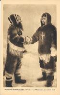 Missions Extrême Nord Canadien, Série X - Les Missionnaires En Costume Local - Carte Non Circulée - Missionen