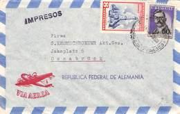 URUGUAY - AIR MAIL 1959 MONTEVIDEO -> OSNABRÜCK //ak228 - Uruguay
