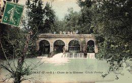 11232           GIMAT   CHUTE DE LA GIMONE - Francia
