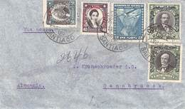 CHILE - AIR MAIL 1934 SANTIAGO -> OSNABRÜCK //ak230 - Chile