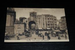 9973              NAPOLI, PORTA CAPUANA, PARTE POSTERIORE - 1912 / ANIMATA - Napoli (Naples)
