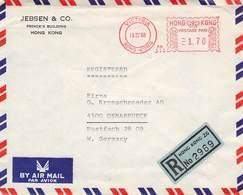 HONGKONG - AIR MAIL /REGISTERED 1968 -> OSNABRÜCK //ak231 - Hong Kong (...-1997)