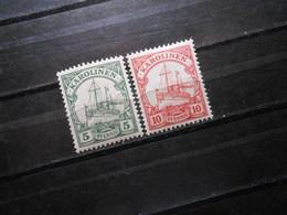 D.R.8/9**MNH - Deutsche Kolonien (Karolinen) 1900  Mi 5,50 € - Colony: Caroline Islands