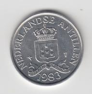@Y@    Nederlandse Antillen   2 1/2  Cent  1983 ( 4632 ) - Antilles Neérlandaises