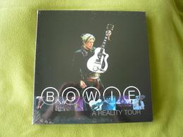David Bowie - Coffret X3 Vinyles Bleu + Poster - A Reality Tour - Neuf & Scellé - Collectors
