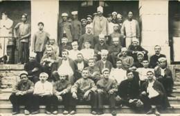 Belle Carte Photo D'un Hopital Militaire Pour Tirailleurs, Zouaves, Indigènes Indochinois - Guerre 14/18 Non Situé - Guerre 1914-18