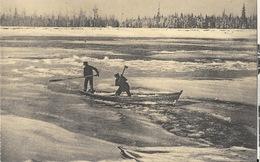 Missions Paters Oblaten Canada - Visschers Verrast Door Vroegtijdig Vriezen - Gel Précoce De La Banquise - Missionen