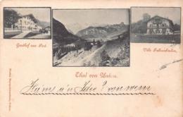THAL Von UNKEN AUSTRIA~GASTHOF Zur POST~VILLE FAHRENBACHER~1898  FLORIAN MAYRGSCHWENDTNER PHOTO POSTCARD 43361 - Österreich