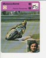 Patrick Fernandez à Imola En 1979 Fiche Motocyclisme Sport FICH-Moto-2 - Sports
