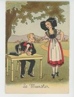 Illustrateur GEROL - Edit. BARRE & J. DAYEZ - LE MUNSTER - Autres Illustrateurs