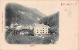 BOCKSTEIN AUSTRIA~KURHAUS~1902 PHOTO POSTCARD 43369 - Böckstein
