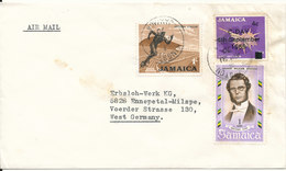 Jamaica Cover Sent Air Mail To Germany 21-4-1970 - Jamaica (1962-...)
